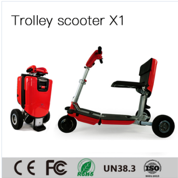 Good Quality Foldable Electric Scooter Motorcycle Can Take to Aircraft (red color) pictures & photos