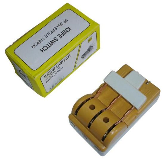 china porcelain fuse type single throw knife switch 3p 30a china rh cnlockman88 en made in china com