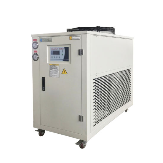 10 HP Industrial Air Cooled PVC Line Air Chiller with Ce Certificate
