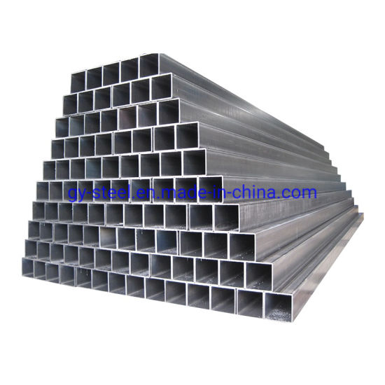 Weld Pipe Structure Project Spiral Welded Steel Pipe ERW Cold Rolled Black Square Pipe