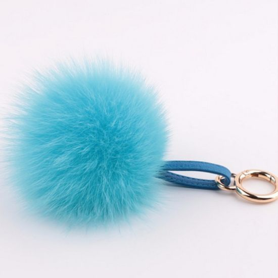 Wholesale Hot Selling Fox Fur POM Poms pictures & photos