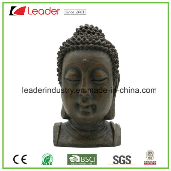 Polyresin Happy Buddha Statue with Standing Fengshui for Home and Garden Decoration pictures & photos