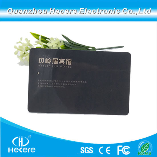 China Low Cost 125kHz T5577 RFID Hotel Key Card for Saflok / Onity