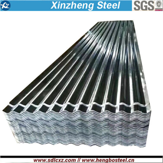 Dx51d+Z 0.18mm Product Corrugated Galvanized Steel Sheet