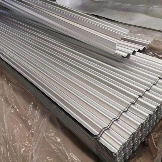 Az150 G550 55% Zinc Aluminum Aluzinc Corrugated Steel Roofing Sheet