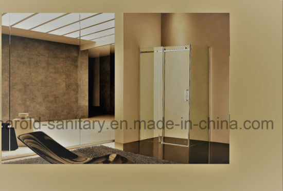 Dia. 40mm Stainless Steel Roller Sliding Shower Door pictures & photos