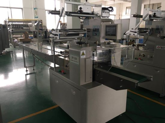 Food Flow Packaging Machine (ZP320) pictures & photos
