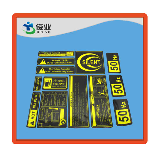 Logo Print Custom Adhesive Waterproof Synthetic Paper Labels pictures & photos