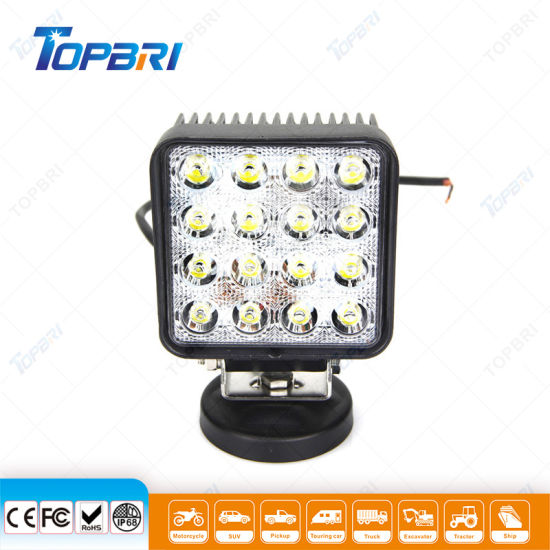 Automobile Lighting 4inch 48W Agriculture Auto LED Work Truck Light