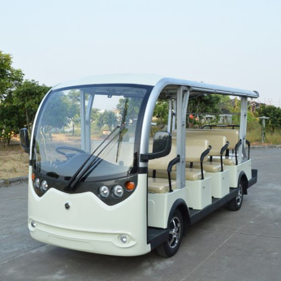 Ce Certificated 14 Passenger Sightseeing Car pictures & photos
