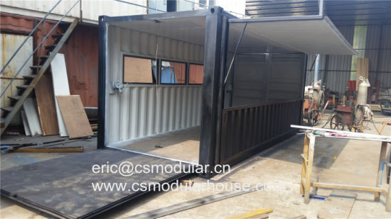 China Modified Container House Container Coffee Shop Shipping