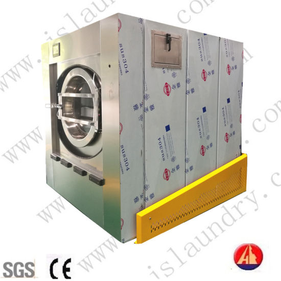 Laundry Equipment Industrial Washing & Dewatering Machine with CE Approvered (15KG-120KG)