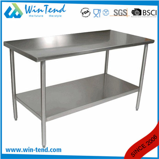 Kitchen Work Table Used Stainless Steel