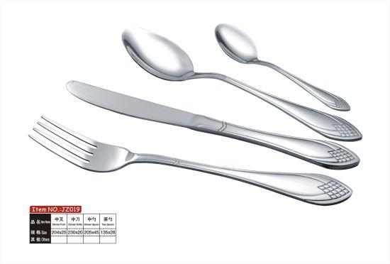Stainless Steel Cutlery Set Spoon Fork Knife pictures & photos