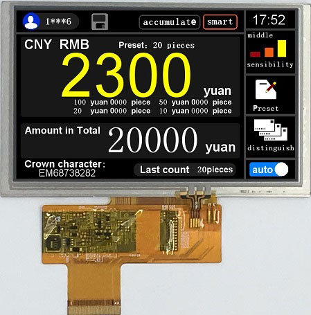 5 Inch RGB 800X480 High Brightness TFT LCD Display pictures & photos