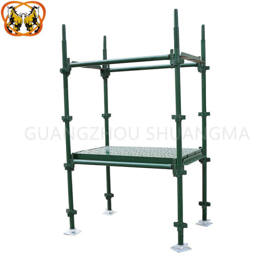High Quality Construction Galvanized Steel Kwikstage Scaffold