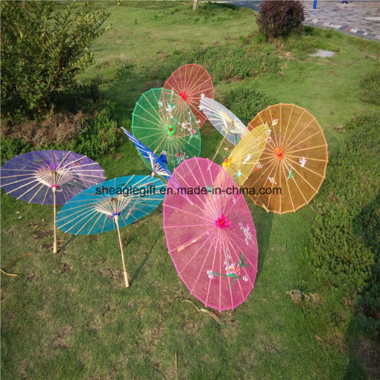 Promotional Custom Logo Print Wedding Parasol Umbrella pictures & photos