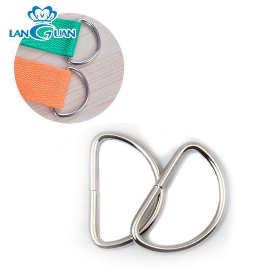 Hot Sale Bag Metal D Ring Belt Buckle