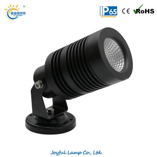 Aluminum IP65 Outdoor LED Spot Light LED Lawn Light COB 10W LED Garden Spot Light with Anti-Glare Hood and Tree Strap Optional