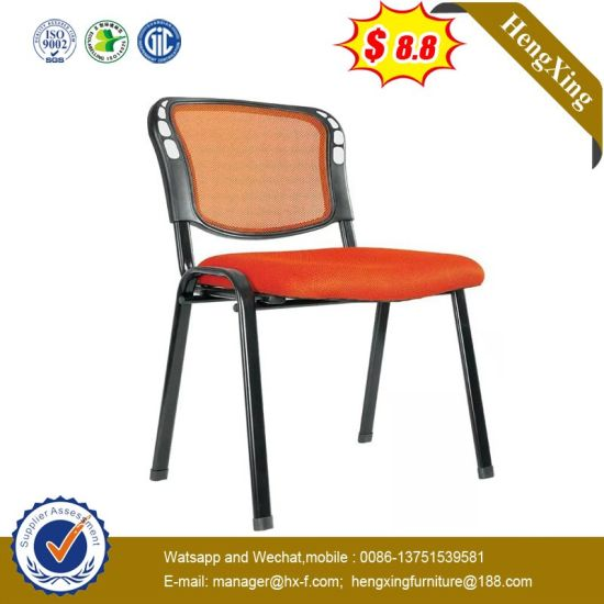 Modern Leather Plastic Dining Chair Mesh Chair