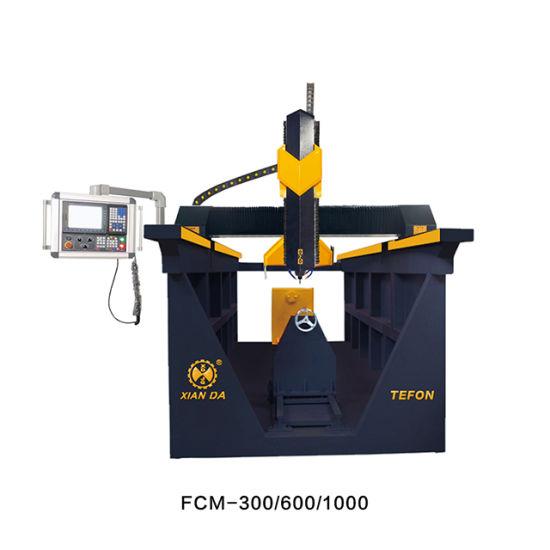 Fcm-300/600-1000 4axis Column Stone Carving Machine