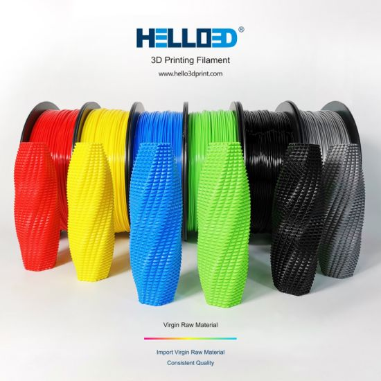 Free Sample 1.75mm 2.85mm 3mm PLA ABS 3D Printer Filament