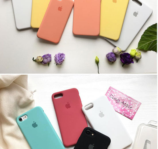 Liquid Silicone Case For IPhone