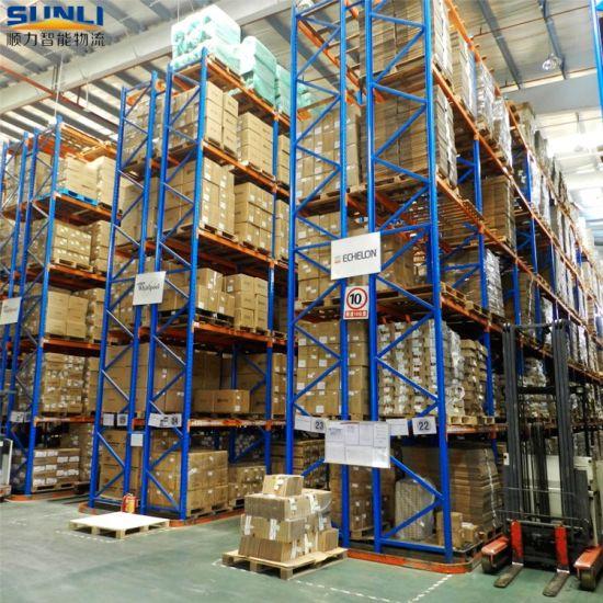Q235B Steel Heavy Duty Pallet Storage Warehouse Racking