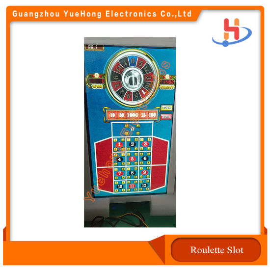 [Hot Item] Lucky Numbers Roulette Gambling Jackpot Arcade Game Machines  with Slot Cabinet