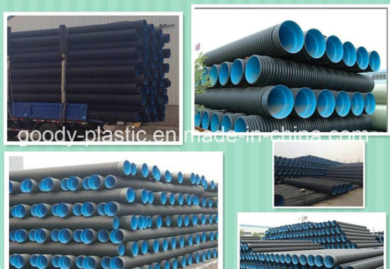 Healthy & Non-Toxic HDPE Double Wall Pipe