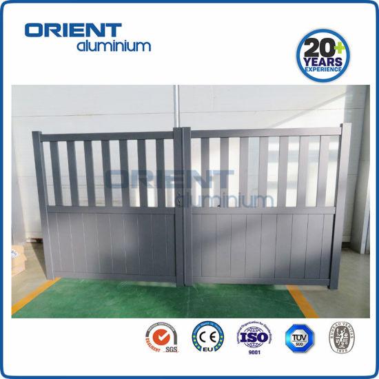 Customized High Quality Aluminium Swing Gate for Home Garden