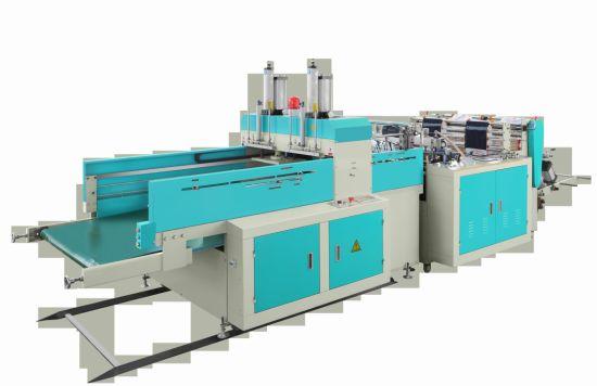 Computerized Automatic High Speed T-Shirt Bag Making Machine (2 Line)