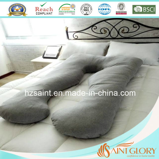 U Shaped Pregnancy Maternity Pillow Full Body Pillow with Washable Pillow Cover pictures & photos