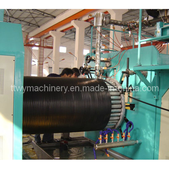 Plastic HDPE Winding Pipe Production Line/Extrusion Line/Extruder Machine (TCRG-1600) pictures & photos