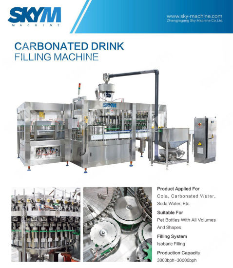 Pure Water Machine for Filling 330ml Pet Plastic Bottle