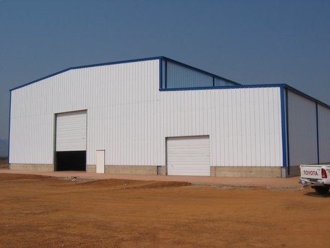 Africa Steel Structure Warehouse (SS-24)