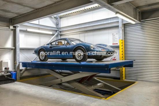Home Garage Used Storage Scissor Car Lift Auto