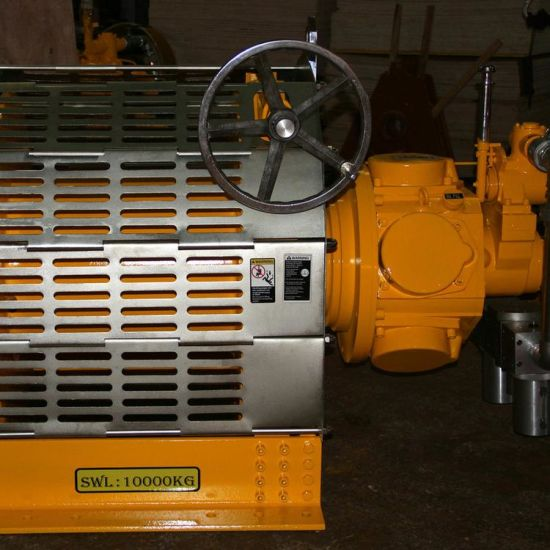 Remote-Control Air Winch for Drilling Rigs and Drilling Platform