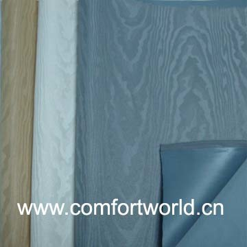 Jacquard Curtain Fabric With PVC Coating pictures & photos