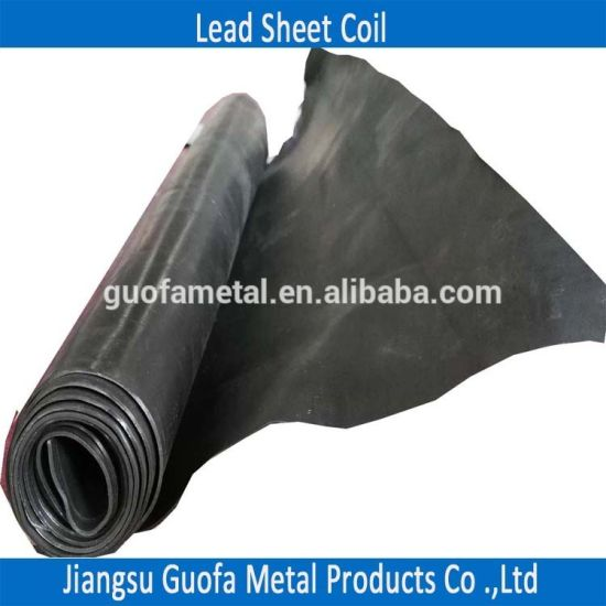 China Factory Price 99 994% Pure X Ray Shielding Lead Lining Sheet