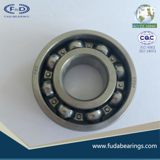 Wholesale motorcycle engine ball bearing spare parts 6204 OPEN