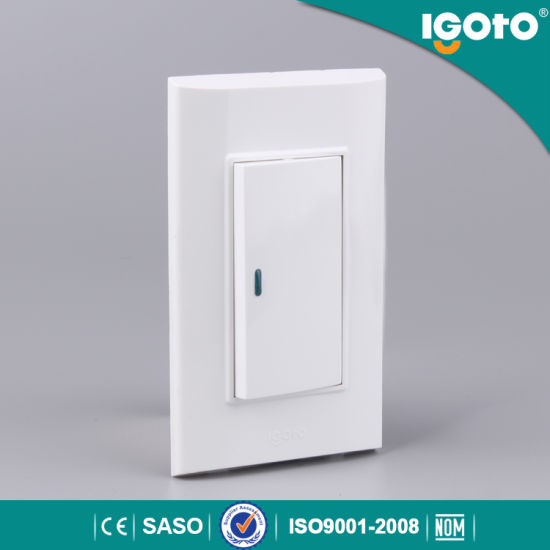 Light Switch Types >> American Type Big Button 72mm 3 Gang Wall Light Switch