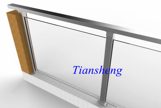 Aluminum Glass Railing pictures & photos