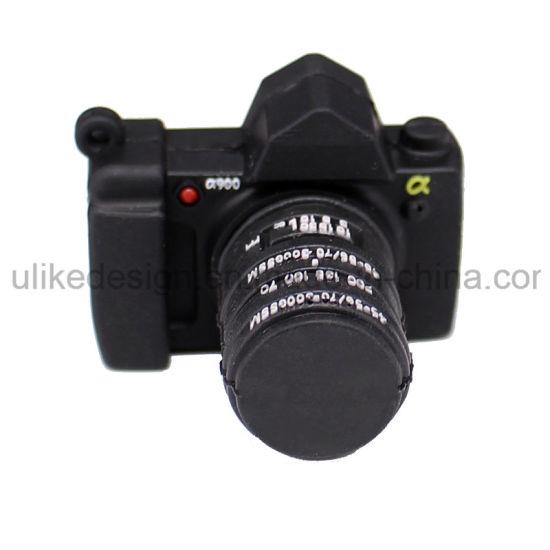 Camera Shape USB Flash Drive Customized PVC Rubber USB Pen Drive Special Gift USB Stick/Flash Drive