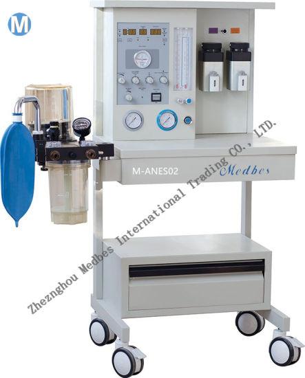 Two Vaporizers ICU Equipment Anesthesia Machine