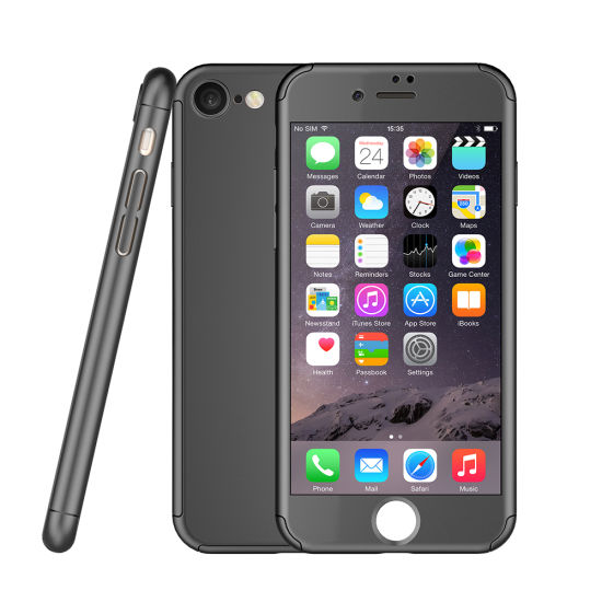China High Quality For Iphone 7 Case 360 Degree Matte Pc Complete