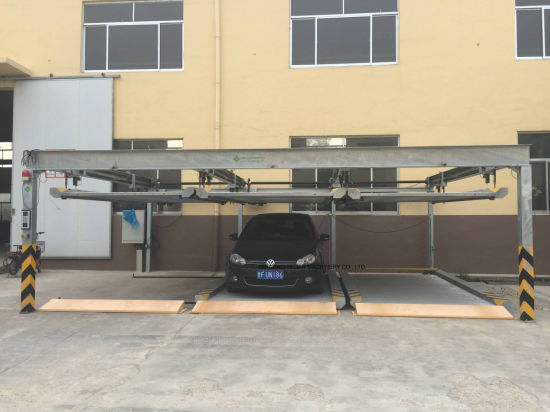 Automatic 2 Level Puzzle Car Parking Lift System Price pictures & photos