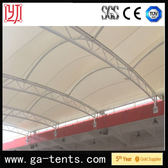 China Permanent Structure Steel Frame Toll-Gate Tent Awning Water ...