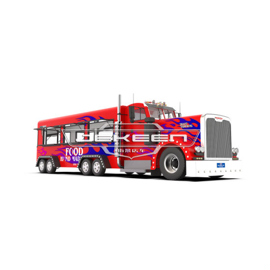 Jekeen Mobile Food Truck Food Trailer Food Cart Snack Machines Business for Sale of Star-Lord