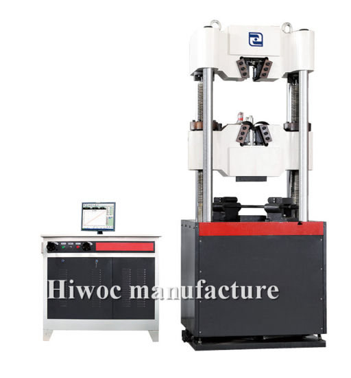 Electronic Servo Universal Torsion Test Machine 1000kn for Rebar/Waw-D Series Computer Electro Hydraulic Servo Hydraulic Universal Testing Machine pictures & photos